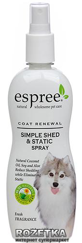 Спрей Espree Simple Shed and Static Spray для зміцнення вовни 355 мл (e00063) - зображення 1