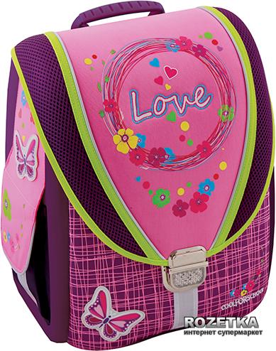 """Ранец школьный каркасный-трансформер Cool For School Love 710 14"""" (85600) - изображение 1"""