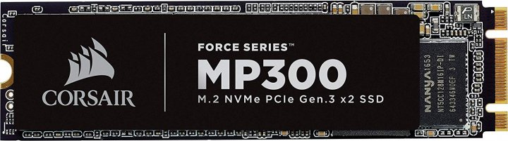 Накопичувач SSD M. 2 MP300 120GB Corsair Force (CSSD-F120GBMP300) - зображення 1