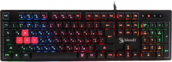 Клавіатура дротова Bloody B160N USB Black (4711421941204) - зображення 1