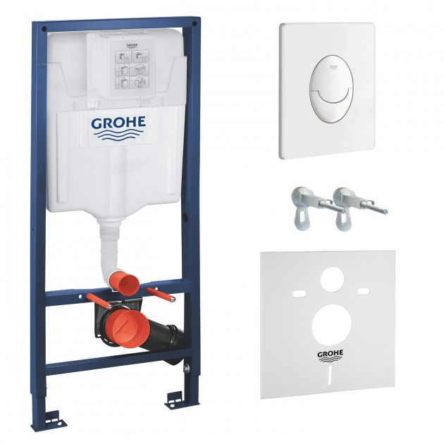 Инсталляция GROHE Rapid SL 38722001 + звукоизолирующая прокладка - изображение 1