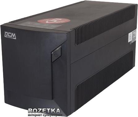 Джерело безперебійного живлення Powercom RPT-1025AP Schuko - зображення 1