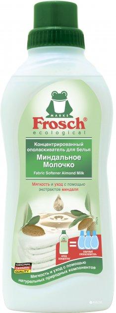 Кондиционер - ополаскиватель Frosch Миндальное Молочко 750 мл (4009175193285) - изображение 1
