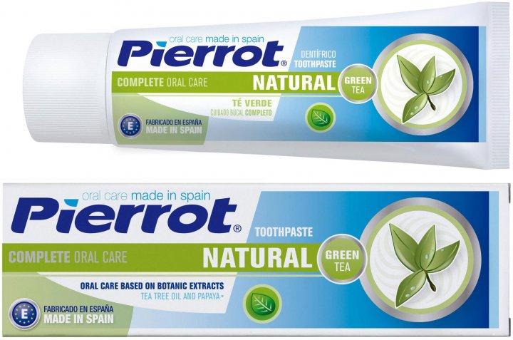 Зубная паста Pierrot с зеленым чаем 75 мл Ref. 87 (8411732100876) - изображение 1
