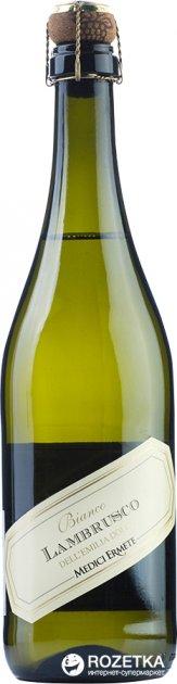 Вино игристое Medici Lambrusco dell'Emilia Bianco Dolce белое сладкое 0.75 л 8% (8004810464085) - изображение 1