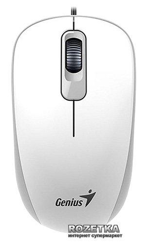 Мышь Genius DX-110 USB White (31010116102) - изображение 1