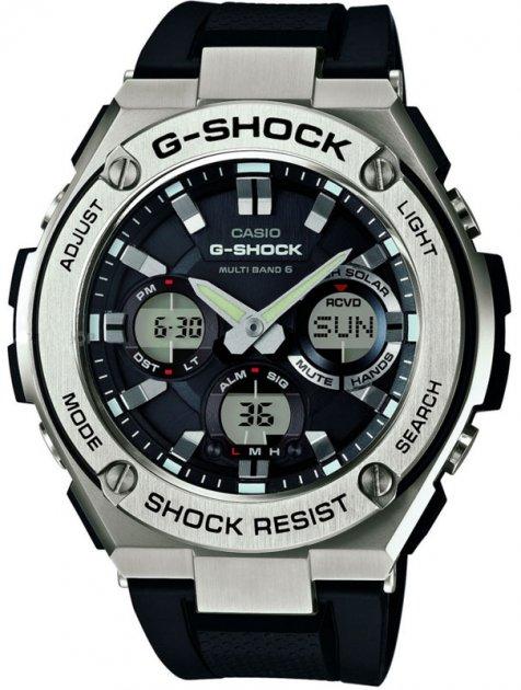 Чоловічий годинник CASIO GST-W110-1AER - зображення 1