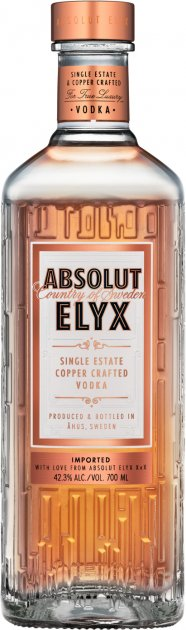 Водка Absolut Elyx 0.7 л 42.3% (7312040217014) - изображение 1