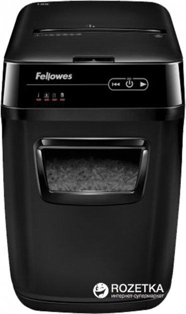 Шредер Fellowes AutoMax 130C 130 аркушів 4х51 мм 31 л (ff.U4680101) + - зображення 1