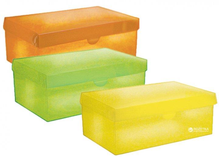 Набір кольорових коробів Handy Home 34x21x13 см 3 шт (BOX-01) - зображення 1