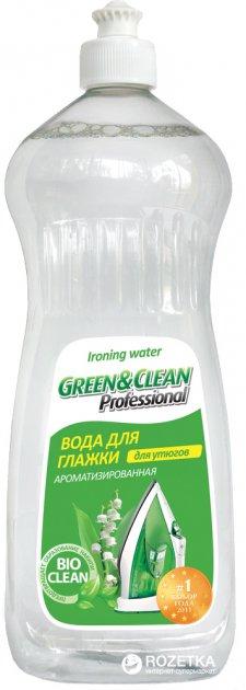 Вода для утюгов Green&Clean Professional Ландыш 1000 мл (4823069700140) - изображение 1