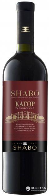 Вино Shabo Кагор десертне червоне 0.75 л 16% (4820070403695) - зображення 1