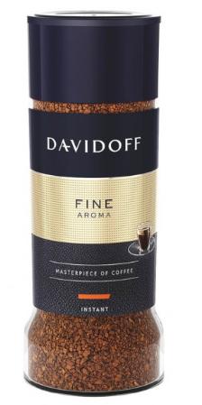 Кава розчинна Davidoff Cafe Fine Aroma 100 г (4006067084300) - зображення 1