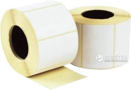 Термоэтикетка Tama 52 x 30 мм 1000 этикеток прямоугольная 5 шт White (3890)