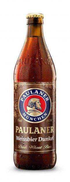 Упаковка пива Paulaner Dunkel темне нефільтроване 5.3% 0.5 л x 20 шт (4066600060765) - зображення 1