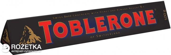 Шоколад Toblerone Темный 100 г (7614500010617) - изображение 1