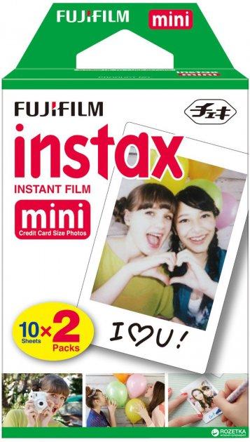 Фотопленка Fujifilm Instax Mini Glossy 2 х картриджа