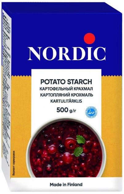 Крохмал картопляний NordiC 500 г (6411200100478) - зображення 1