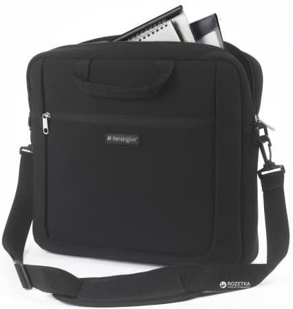 """Сумка для ноутбука Kensington SP15 Laptop Sleeve 15.6"""" Black (K62561EU) - изображение 1"""