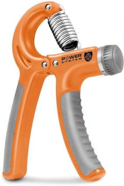Эспандер кистевой Power System Power Hand Grip PS-4021 Orange (PS-4021_Orange) - изображение 1