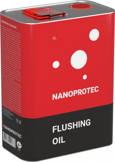Промивальна моторна олива Nanoprotec Flushing Oil 4 л (NP 2214 504) - зображення 1
