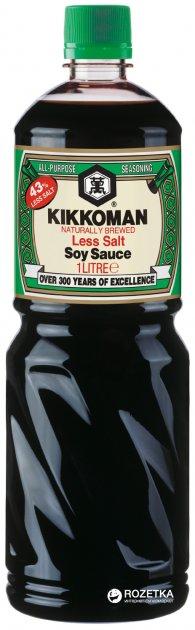 Соус соевый Легкий Kikkoman 1 л (8715035130807) - изображение 1