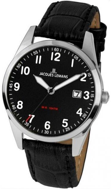 Чоловічий годинник JACQUES LEMANS 1-2002A - зображення 1