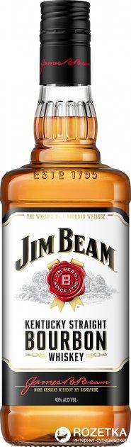 Виски Jim Beam White 4 года выдержки 0.7 л 40% (5010196091008) - изображение 1