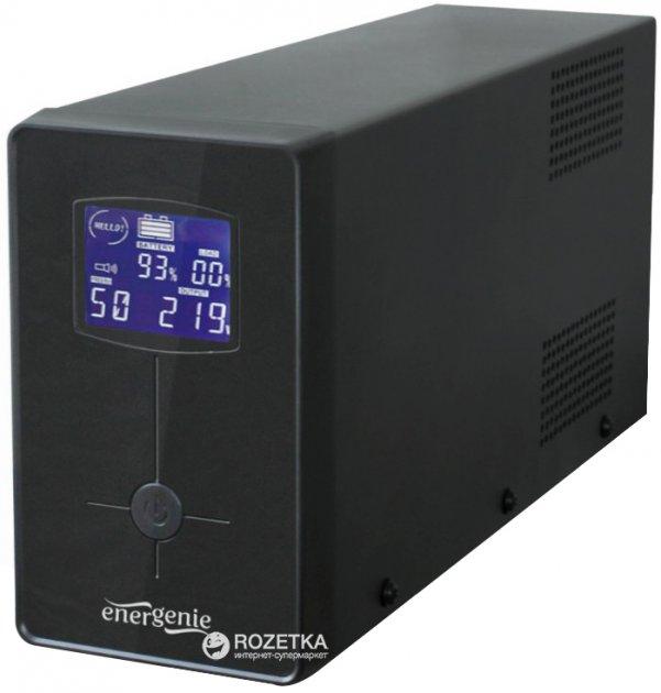ИБП EnerGenie Pro 850 VA LCD (EG-UPS-032) - изображение 1
