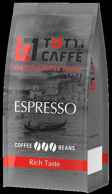Кофе в зернах TOTTI Caffe Espresso 250 г (8718868256348) - изображение 1