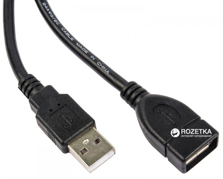 Кабель Ultra USB 2.0 AF – AM 1.5 м (UC21-0150) - изображение 1