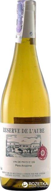 Вино Pere Anselme Reserve de Laube белое сухое 0.75 л 13.5% (3217661014995) - изображение 1