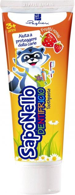 Детская зубная паста SapoNello от 3 лет 75 мл (8001280013546) - изображение 1