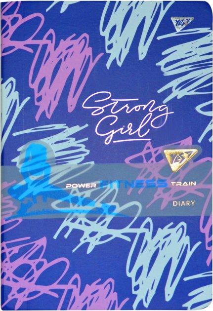 Блокнот-мотиватор YES Strong Girl серии Fitness 140 х 210 мм 192 страницы (151579) - изображение 1