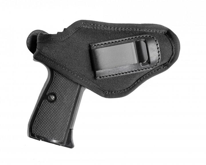 Поясная внутрибрючная кобура A-LINE для пистолетов малых габаритов черная (С1) - изображение 1