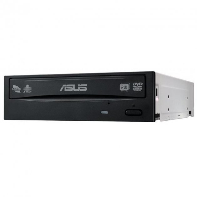 Привод DVD+/-RW ASUS DRW-24D5MT/BLK/B/AS (90DD01Y0-B10010) SATA Black - изображение 1