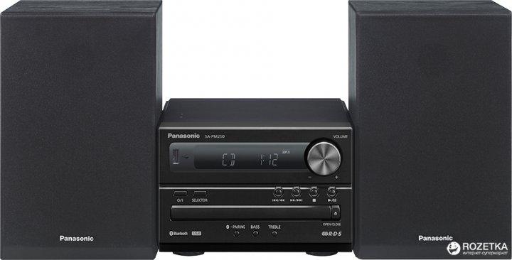 Panasonic SC-PM250EE-K Black - зображення 1