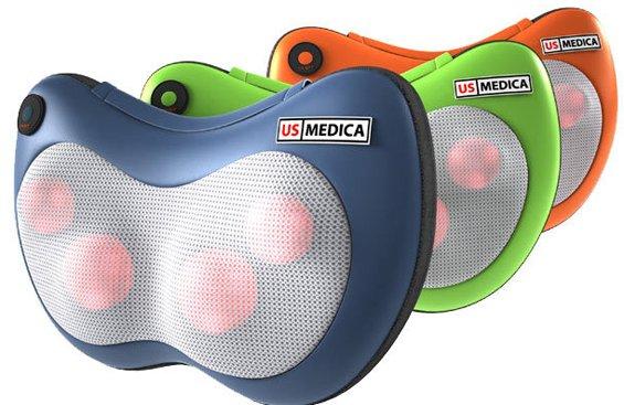 Массажная подушка US MEDICA Apple Blue (US0480) - изображение 1