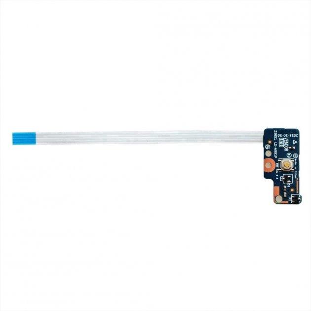 Плата кнопки включення LS-A991P зі шлейфом для HP Pavilion 15-G, 15-R, 15-S, 250 G3 ORIGINAL (12045) - зображення 1