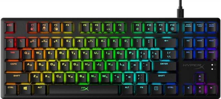 Клавиатура проводная HyperX Alloy Origins Core USB (HX-KB7RDX-RU) - изображение 1