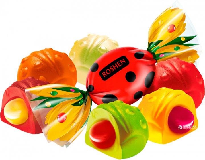 Конфеты желейные Roshen Cолнечный Жук 1 кг (4823077603952_4823077603945) - изображение 1