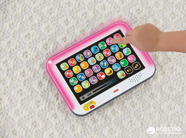 Умный планшет Fisher-Price с технологией Smart Stages украинская озвучка (FBR86)