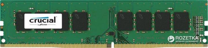 Оперативная память Crucial DDR4-2400 4096MB PC4-19200 (CT4G4DFS824A) - изображение 1