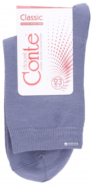 Носки Conte Collant Classic 13С-64СП-000 36-37 р Фиолетовые (4810226060964) - изображение 1