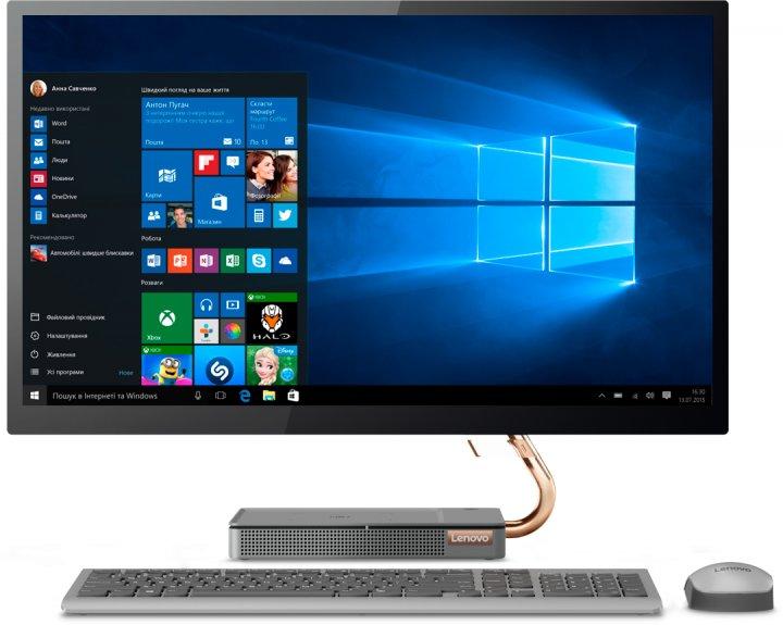 Моноблок Lenovo IdeaCentre 5 27IMB05 (F0FA0069UA) Windows 10 Home - изображение 1