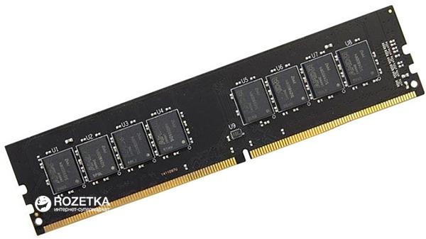 Оперативная память AMD DDR4-2133 4096MB PC4-17000 R7 Performance Series (R744G2133U1S-U) - изображение 1