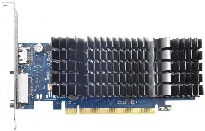 Asus PCI-Ex GeForce GT 1030 Low Profile 2GB GDDR5 (64bit) (1228/6008) (DVI, HDMI) (GT1030-SL-2G-BRK) - изображение 1
