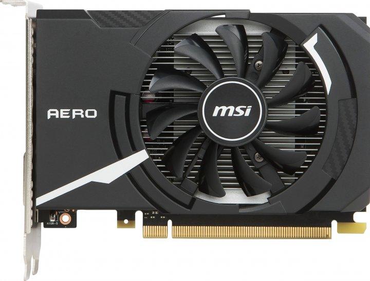 MSI PCI-Ex GeForce GT 1030 Aero ITX OC 2GB GDDR5 (64bit) (1265/6008) (DVI, HDMI) (GT 1030 AERO ITX 2G OC) - изображение 1