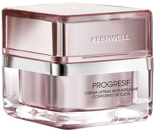 Лифтинг-крем от морщин вокруг глаз Keenwell Progresif для всех типов кожи 25 мл (8435002102261) - изображение 1