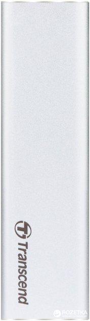 Портативный корпус для Transcend SSD SATA M.2 2280 - USB 3.1 Gen 1 Metal Silver (TS-CM80S) - изображение 1